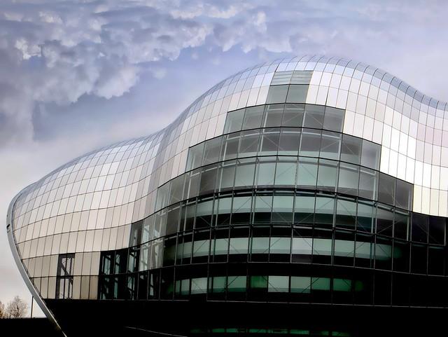 The Sage Gateshead east wing - Newcastle (2/3)
