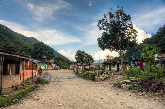 Peruvian Mountain Town
