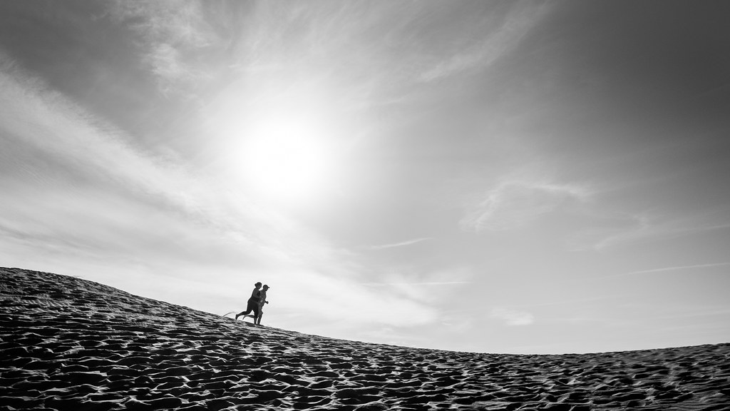 Run, Death Valley national park, California picture
