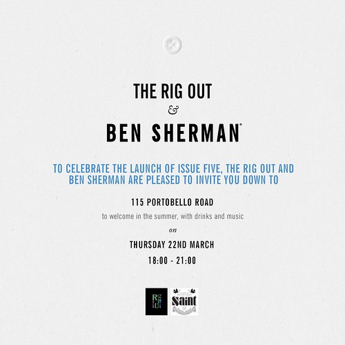 Rig Out X Ben Sherman