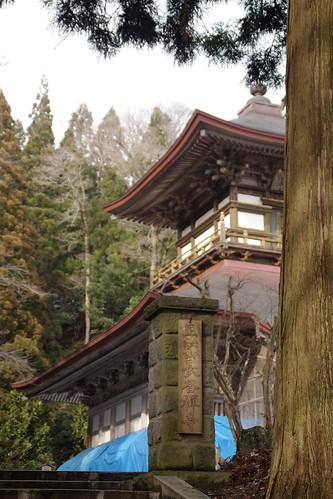 赤田の大仏 大仏殿 1