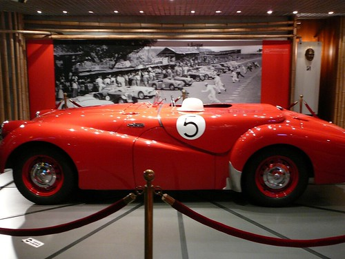 Triumph at the Grand Prix Museum