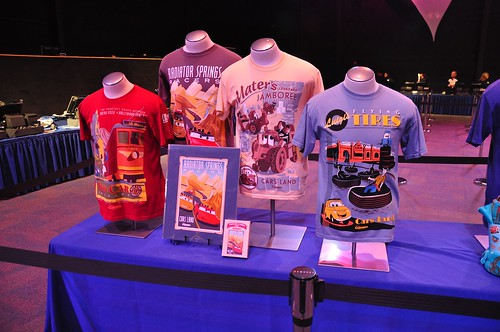 Cars Land shirts