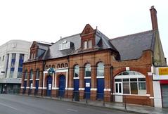 Stratford High Street station building