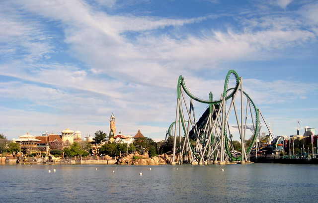 Universal Orlando - Islands of Adventure by CC user jared422 on Flickr