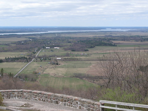 Ottawa Valley from Champlain Lookout