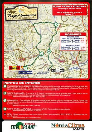 Tramo cronometrado B Baja Almanzora 2012
