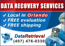 Data Recovery Services in Orlando