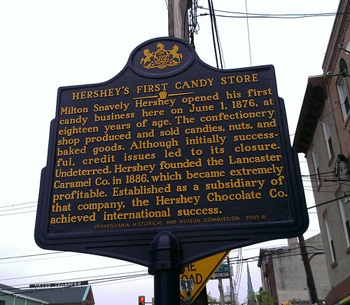 Hersheys first location
