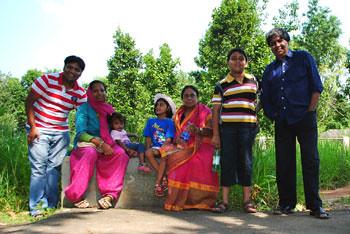 Family at Ranchi Zoo