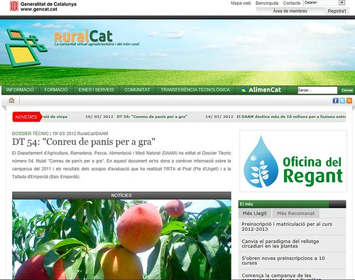 Adasa is awarded the maintenance and development contract for the RuralCat portal