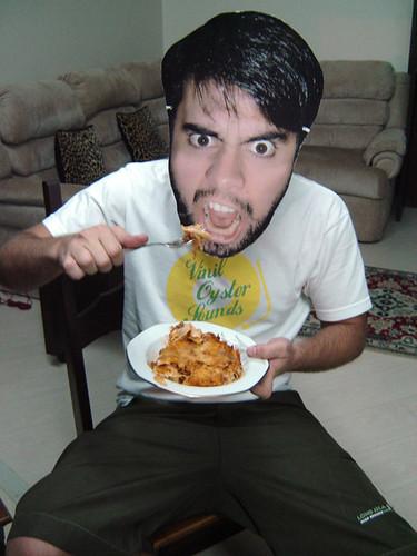 Feleps mit hungrig
