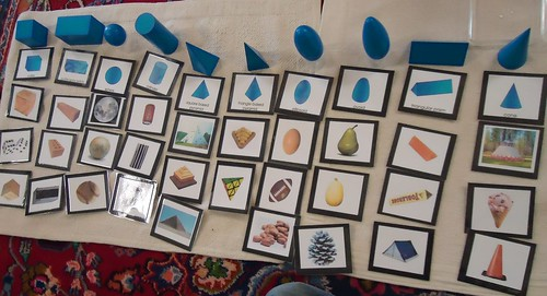 Geometric Solid Sorting (Image from To the Lesson!)