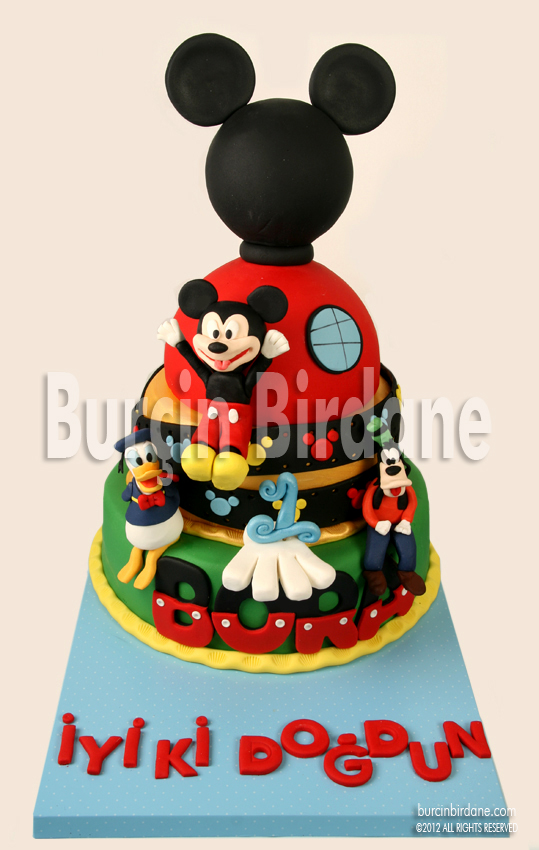 Mickey Clubhouse Cake