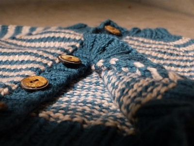 Coffee & Bagl Cardigan
