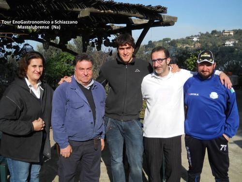 I fondatori dell'Enogastronomictour a Massalubrense