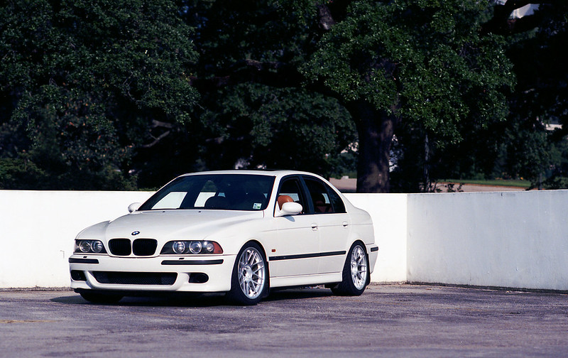 E39 2001 BMW M5 - Alpine White + Caramel - 155k Miles