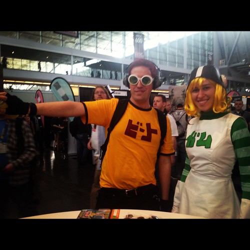 Awesome fans who came dressed as Jet Set Radio Characters