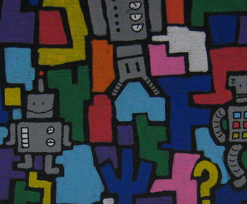robot painting detail