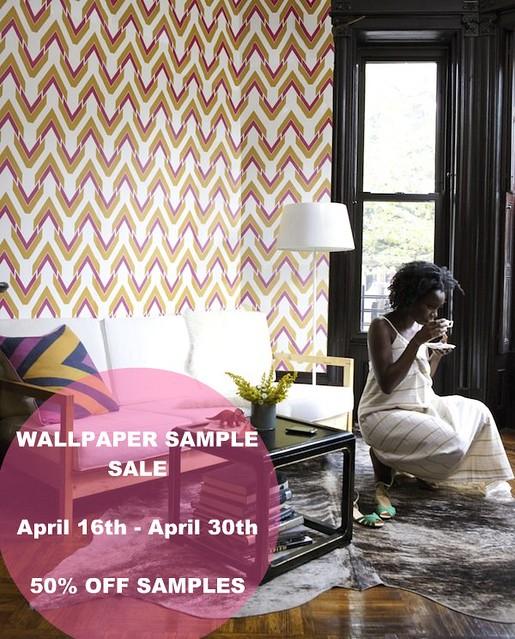 Wallpaper Sample Sale