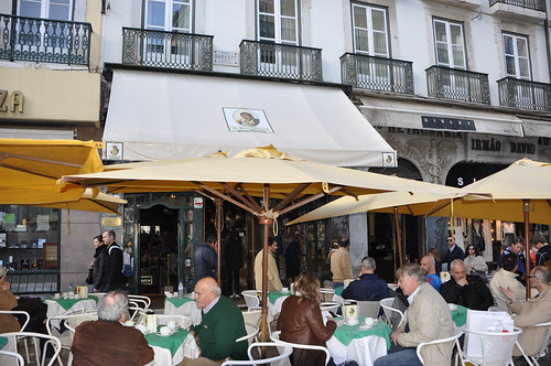 Cafe La Brasileira - Chiado - Rua Garret