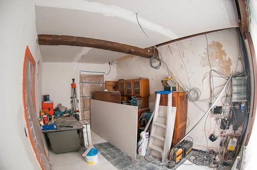 Een nieuw plafond
