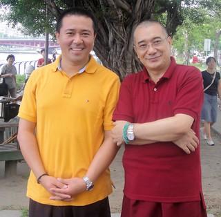 Tulku Orgyen and Khenpo Tsering Dorje