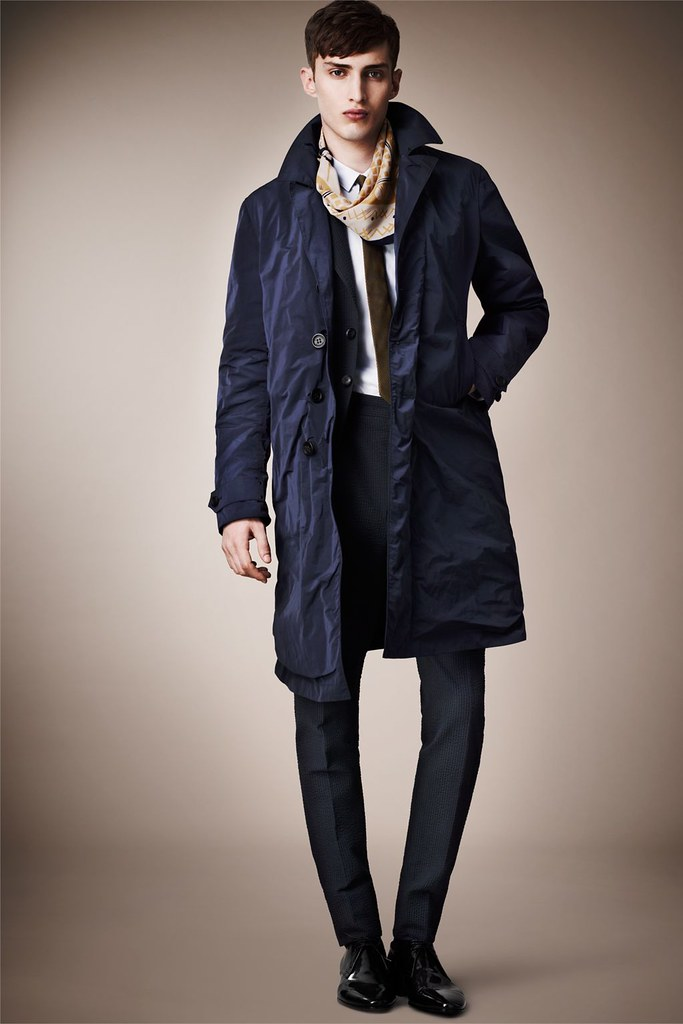 Charlie France0256_Burberry Prorsum's Pre-​​Spring 2013 Collection(Homme Model)