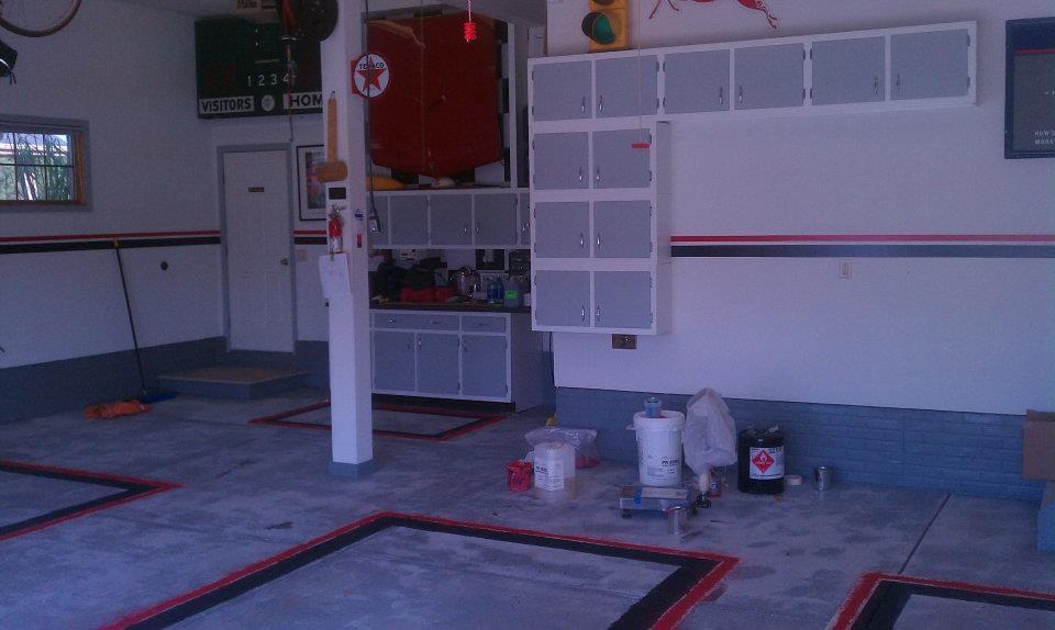 Garage Floor Decals