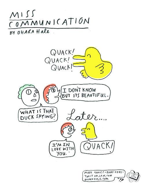 MISSCOMM: quack