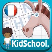 Karo Design, Caroline Huet - Kidschool - Mes premiers mots fléchés