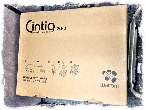 Wacom Cintiq 24HD box set