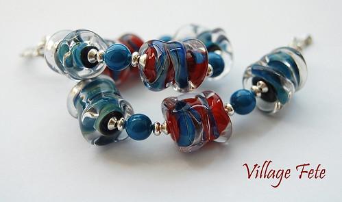 Village Fete Bracelet by gemwaithnia
