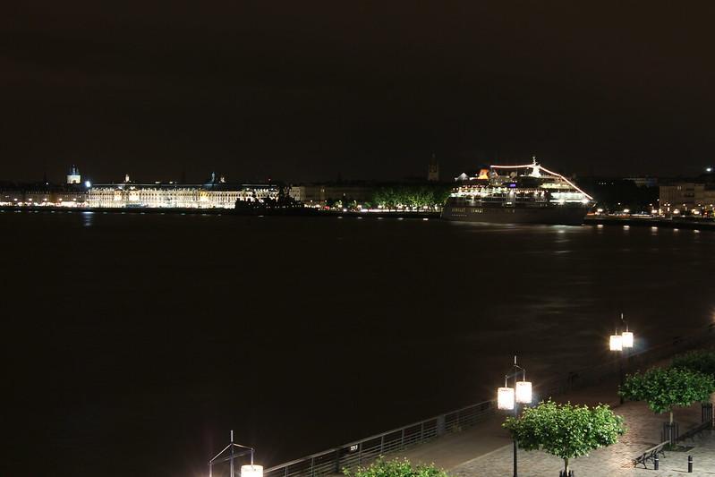 L'Europa et le Rheinland-Pfalz s'endorment dans la nuit bordelaise - Bordeaux - 10 juin 2012