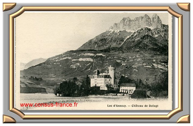 Lac d'Annecy -  Château de Duingt -70-150