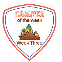 Camper of the Week  -- Week Three