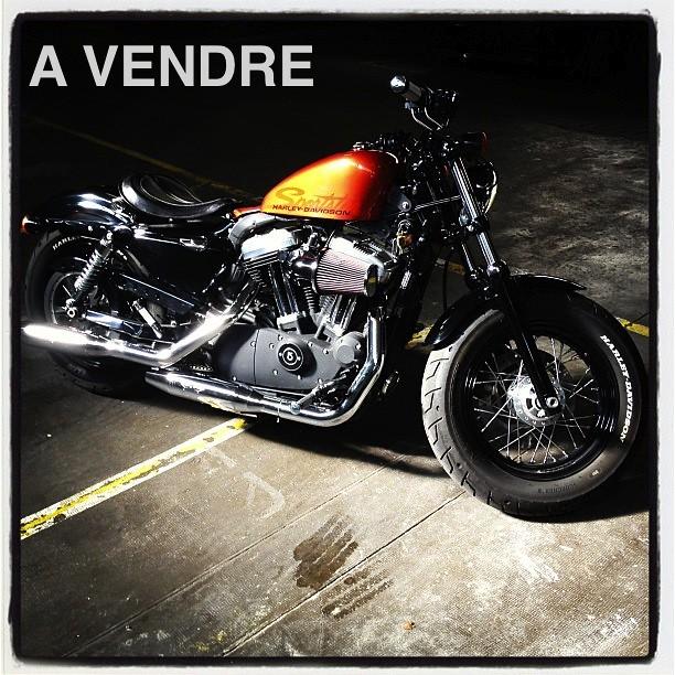 A VENDRE Harley-Davidson XL1200S Modèle 48 de juin 2011