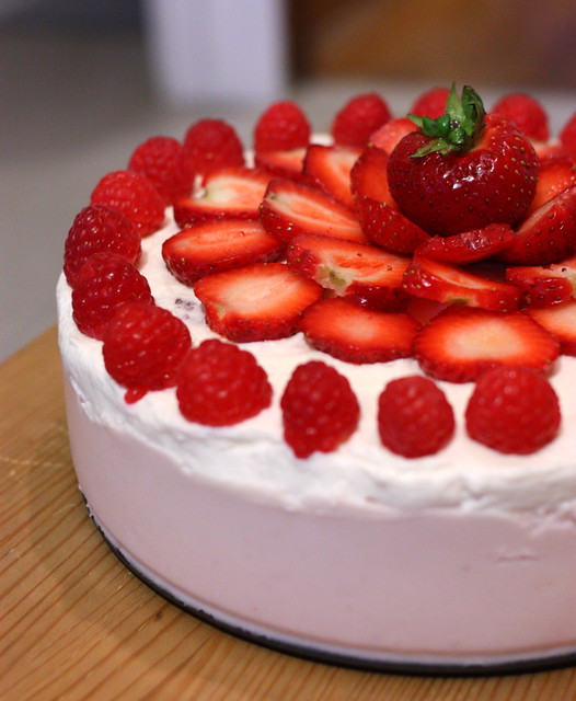 Strawberry Mousse cake | Flickr - Photo Sharing!