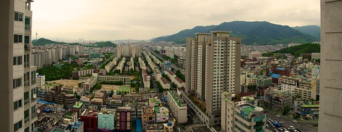 city roof landscape nikon view south korea daegu apsan d7000