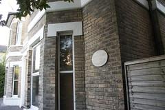 Photo of Rupert Brooke stone plaque