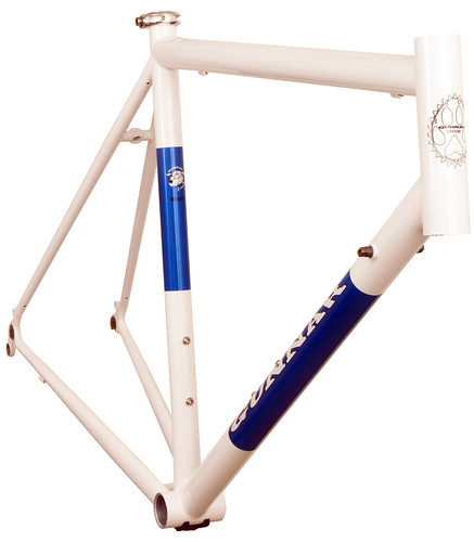 <p>Roadie in White with Gunnar Blue Panels.</p>