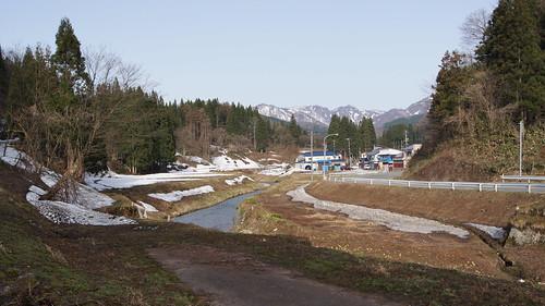 山形県鮭川水系のとある沢です。良い感じ!