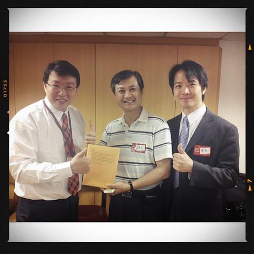 BNI長勝分會:來賓日搶名片並列第一名,Ariix的張煌文老師、凱基期貨的業務副理林保全 by bangdoll@flickr