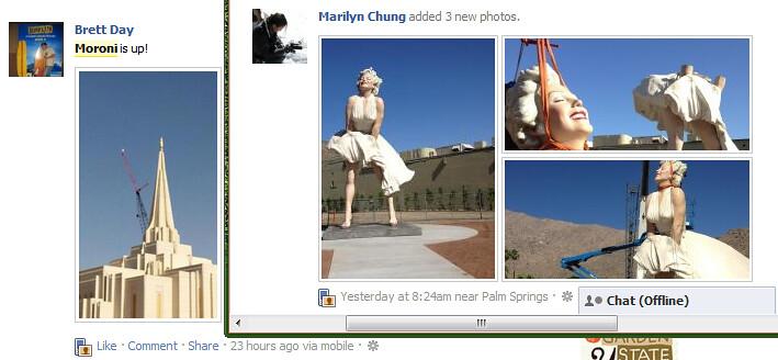Moroni and Marilyn