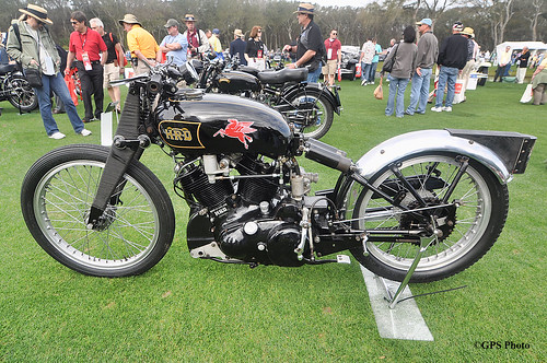 1948 HRD Vincent at Amelia Island 2012
