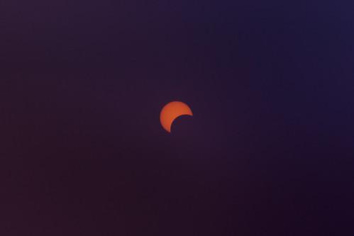 sun eclipse tx crescent astronomy nm solareclipse annulareclipse filtered lubbocklunacy