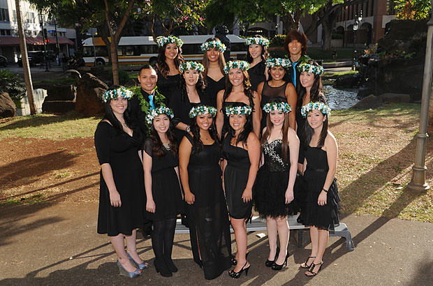 <p>The UH Manoa dental hygiene undergraduate class of 2012</p>