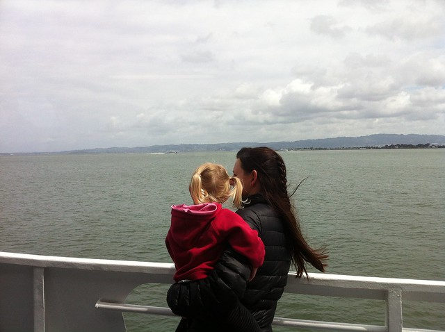 boat ride to Alcatraz