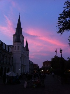 StLouisCathedralSunset by Postcards from UAC