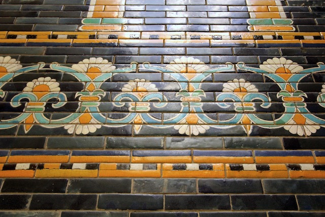 Ishtar Gate tile detail
